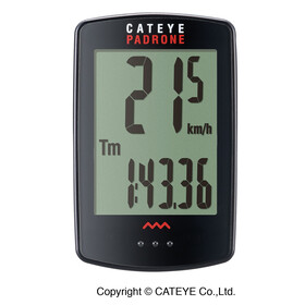 CatEye Padrone CC-PA100W Cycle Computer black